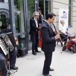 A zenészek: / Die Musiker: Zoltán Marosi, Péter Molnár, Joe Fritz und György Jeszenszky