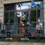A zenészek: / Die Musiker: Joe Fritz, Zoltán Marosi, Péter Molnár und György Jeszenszky