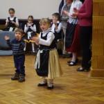 A legkisebbeknek is tetszett a műsor / Auch den Kleinsten gefiel das Programm