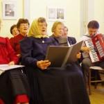 A németkéri kórus / Der Chor von Kierr