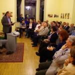 Szász Zoltán mutatta be a monográfiát / Zoltán Szász stellte die Monographie vor
