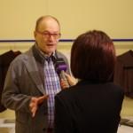 Interjú a rendezvény előtt / Interview vor der Veranstaltung