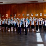 A Petőfi Sándor Általános Iskola tanulóinak előadása / Eröffnungsprogramm der SchülerInnen der Sándor-Petőfi-Grundschule