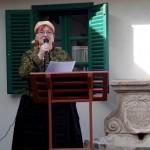 Marlokné Cservenyi Magdolna, a solymári NNÖ elnöke / Magdalena Marlok-Cservenyi, Vorsitzende der DNSV  Schaumar