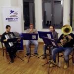 Baranyai zenészek a HdU-ban / Musikanten aus der Branau im HdU