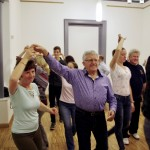 A Zentrum ismét táncházat szervezett / Das Zentrum organisierte wieder ein Tanzhaus