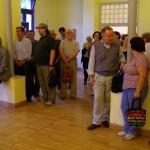 A kiállításmegnyitó alatt / Während der Ausstellungseröffnung
