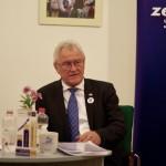 Ritter Imre 2018. január 24-én a Magyarországi Németek Házában / Emmerich Ritter auf der Wahlveranstaltung im HdU am 24. Januar 2018