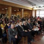 Das Publikum bei der Eröffnungsfeier des regionalen Rezitationswettbewerbs / A regionális szavalóverseny megnyitóján