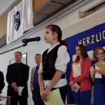 Sára Csongrádi, Gewinnerin der Kategorie Mundart 5.-8. Klasse