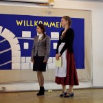 Teilnehmerinnen der Kategorie Hochdeutsch 11.-12. Klasse