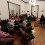 Megrázó részleteket is hallhatott a közönség a rabok mindennapjairól / Das Publikum erfuhr auch erschütternde Details über den Alltag der Gefangenen