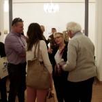 A vendégek még sokáig beszélgettek a hallottakról és látottakról / Die Gäste diskutierten noch lange über das Gesehene und Gehörte