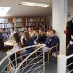A Pannónia Iskola diákjai / SchülerInnen der Pannonia-Schule