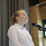 Kata Forray, Gewinnerin der Kategorie Mundart - Klasse 9-12