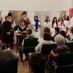 Közös énekléssel zárult a műsor / Das Festprogramm wurde mit einem gemeinsamen Singen abgeschlossen