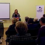 Ambach Mónika konferálta fel a filmet / Monika Ambach moderierte den Film an