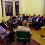 A közönséget mélyen megérintette a történet / Die Geschichte bewegte das Publikum sehr tief