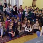 A gyerekek imádták az előadást  / Die Kinder waren hin und weg von der Aufführung