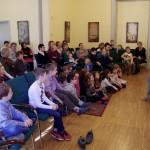 Nem csak a gyerekek imádták az előadást  / Nicht nur die Kinder waren hin und weg von der Aufführung