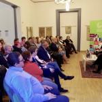 Könyvbemutatót és tematikus beszélgetést tartottak a HdU-ban / Buchpräsentation und thematisches Gespräch im HdU