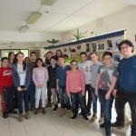 A 6.c/1 osztály tanulói / Schüler der Klasse 6.c/1