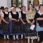 Auch der Chor von Tolnau wirkte mit / A vértestolnai kórus is közreműködött (Foto: Adrienn Fink)