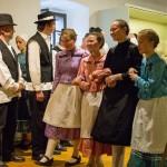 "Tolnau war zum zweitten Mal ""Zu Gast im Museum"" / Vértestolna másodszor volt ""Vendégségben a múzeumban"" (Foto: Adrienn Fink)"