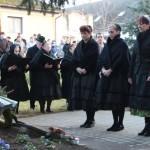Gedenkfeier am 20. Januar 2018 beim Vertreibungsdenkmal in Hajosch (Foto: Robert Ginál)