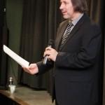 Péter Máy sprach anerkennend über Blickpunkt und über die Bilder / Máy Péter elismerően beszélt a rendezvényről és a fotókról