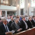 """Szentmise a Szent Kereszt templomban / Heilige Messe in der Kirche """"Szent Kereszt"""""""