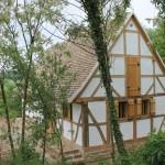 A závodi fachwerk ház / Das Fachwerkhaus in Závod
