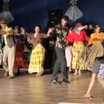 Roma táncokat is bemutattak a Saarer Tanzgruppe gáláján / Roma Tänze wurden bei der Tanzgala der Saarer Tanzgruppe auch aufgeführt (Fotó: Pats Krisztina)