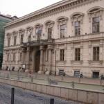Az Andrássy Egyetem épülete / Gebäude der Andrássy-Universität