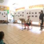 Blickpunkt-kiállítás nyílt Balatoncsicsón / Blickpunkt-Ausstellungseröffnung in Tschitschau (Foto: Monika Lakatos)