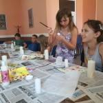 Nationalitätencamp in Großnaarad: Auch die Geschicklichkeit war gefragt