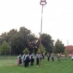 Búcsúfa állítás Babarcon / Kirmesbaumstellen in Bawaz