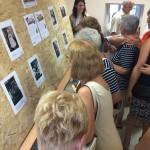 A Blickpunkt-vándorkiállítás Babarcon is bemutatásra került / Auch in Bawaz wurde die Blickpunkt-Wanderausstellung gezeigt