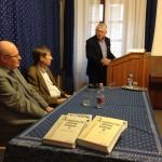 Kerner Lőrinc köszöntötte a jelenlévőket / Lorenz Kerner begrüßte die Anwesenden