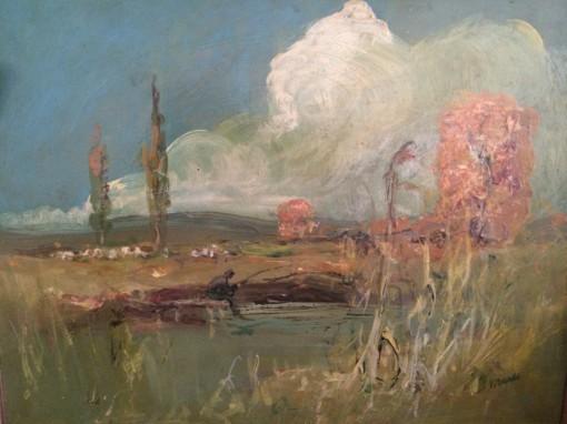 Wrabel Sándor festménye