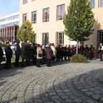 Gedenkveranstaltung in Baje (Foto: Alfred Manz)