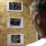 A Blickpunkt kiállítás Babarcon / Die Blickpunkt-Wanderausstellung in Bawaz (2018) (Fotó: Zentrum - Kovács Attila)