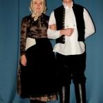 Népviseleti bemutató a X. Őszi zenei fesztiválon Szomódon / Trachtenschau auf dem 10. Herbstmusikfest in Sammet