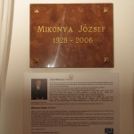Emléktáblát avattak a tarjáni tájházban Mikonya József  emlékére