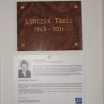 Emléktáblát avattak a tarjáni tájházban Lunczer Teréz emlékére