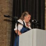 Bárkányi Judit, a Fővárosi Német Önkormányzat elnöke / Judit Bárkányi, Vorsitzende der Deutschen Selbstverwaltung Budapest