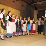 Előadták a magyarországi németek himnuszát / Volkshymne der Ungarndeutschen wurde vorgetragen
