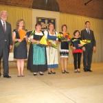 A kitüntetett pedagógusok / Die ausgezeichneten PädagogInnen
