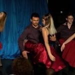 Latin és magyar koreográfiákat is láthatott a közönség / Auch lateinamerikanische und ungarische Tänze standen auf dem Programm