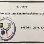 Jubilál a német tagozat - Der deutsche Klassenzug jubiliert (fotó: Zentrum)